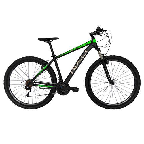 Bicicleta rali tornado rin 29 v-brake para hombre negro con verde