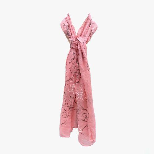 Bufanda color blush pashmina para dama