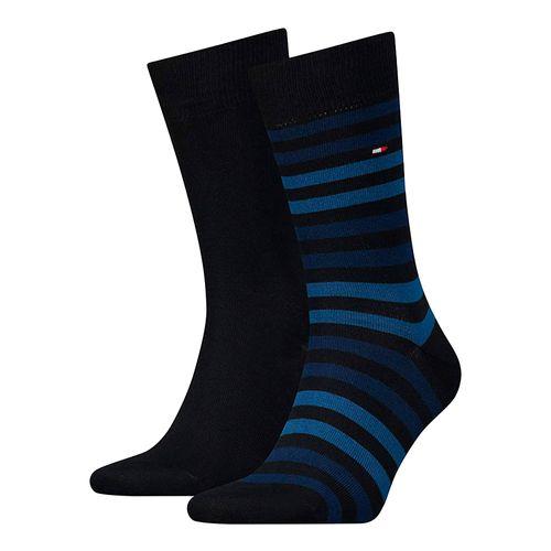 2 pack de calcetines de vestir para caballero dark navy