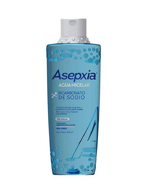 Asepxia Agua Micelar Bicarbonato 400ml