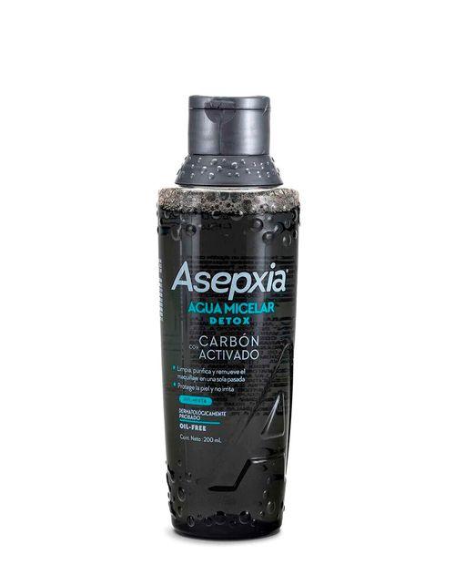 Asepxia Agua Micelar Carbon 200ml