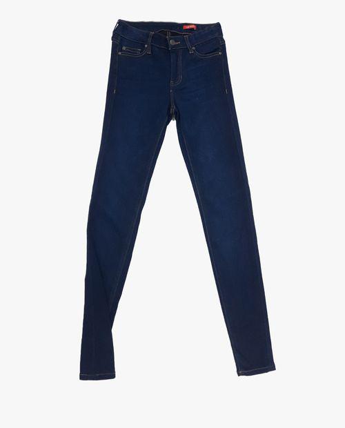 Dark mid rise jeans
