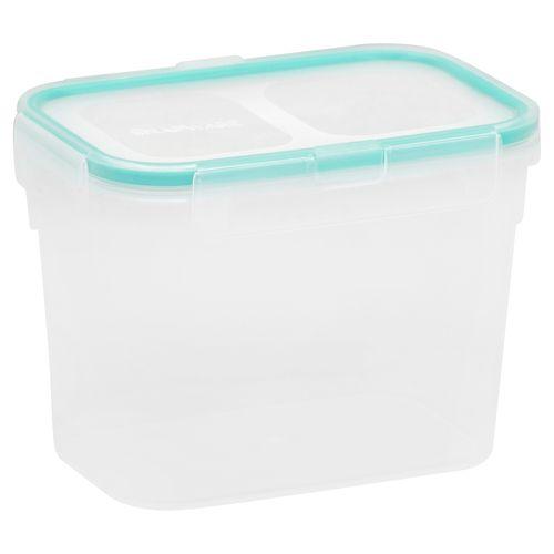 Contenedor hermetico rectangular 2 tazas/473 ml azul
