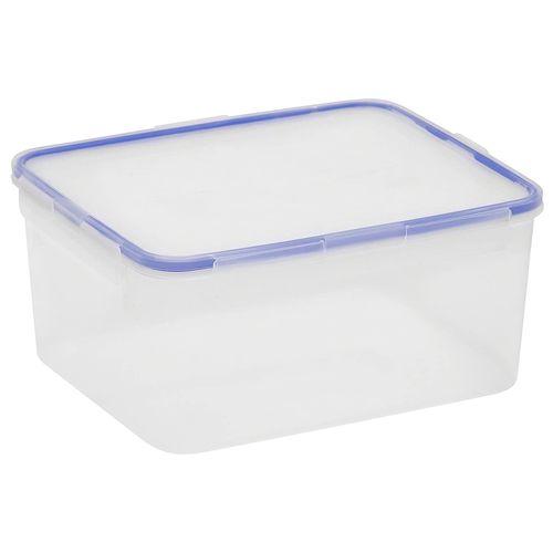 Contenedor hermetico rectangular grande 18.5 tazas/ 4.3 l azul