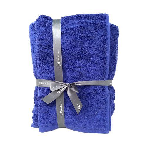 """Set  de toallas azul spa y mano 34x58"""" 18x30"""""""