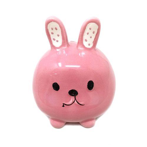 Alcancia conejo (rosado)