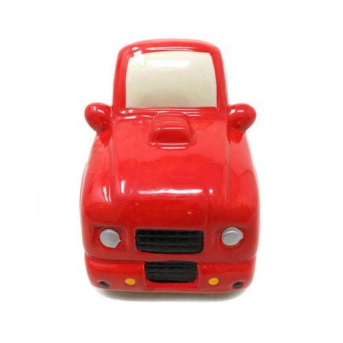 Alcancia carro (rojo)