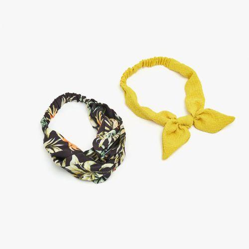 Accesorio de cabello- binchas set turbantes tropical