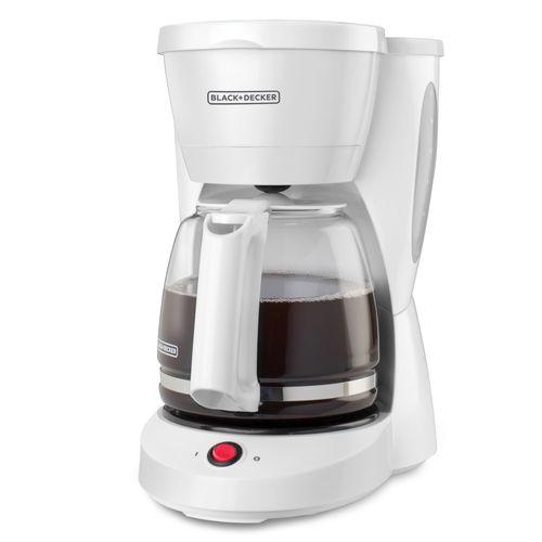 Cafetera 12 tz  blanca