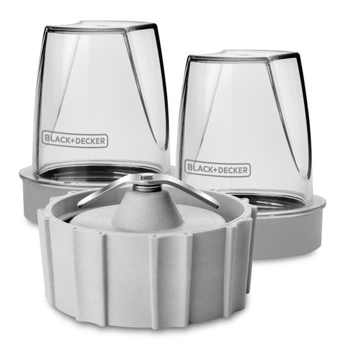 Dos vasos mini durapro capacidad 200ml y cuchillas moledoras