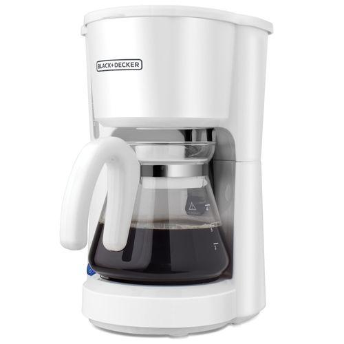 Cafetera 5 tazas blanca
