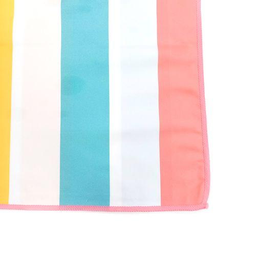 Toalla cabana microfibra multi bright stripe 31x63