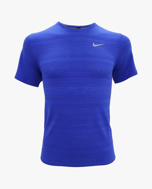 Camisa deportiva azul