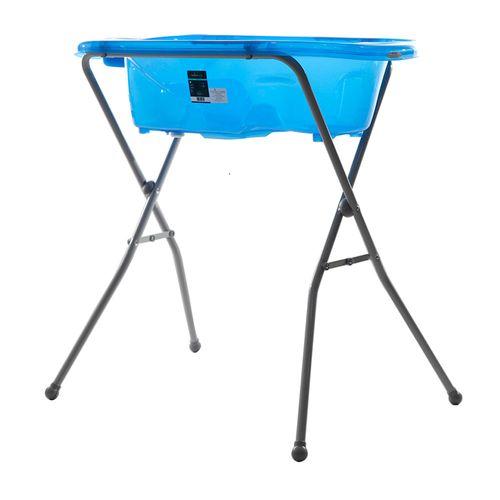 Bañera con patas azul