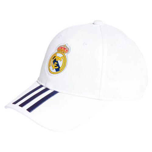 Gorra real madrid adidas blanca