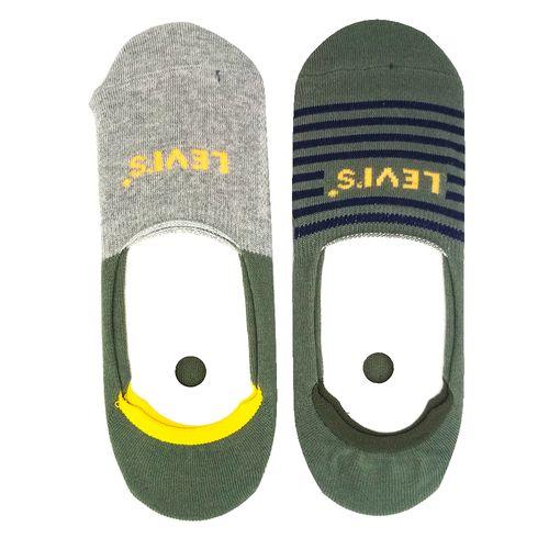 2pack calcetines para caballero stripe oil green