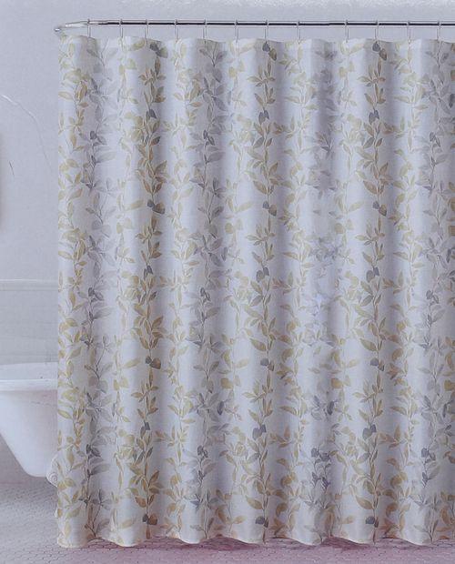 Cortina de ducha floral 13pc 70x72