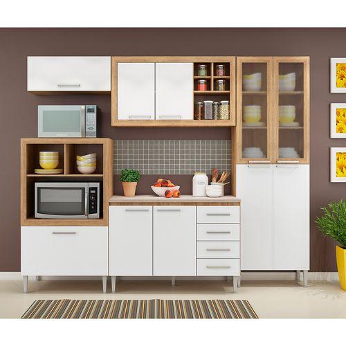 Mueble para cocina carvalho blanco