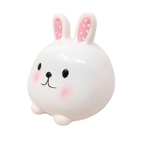 Alcancia conejo (blanco)