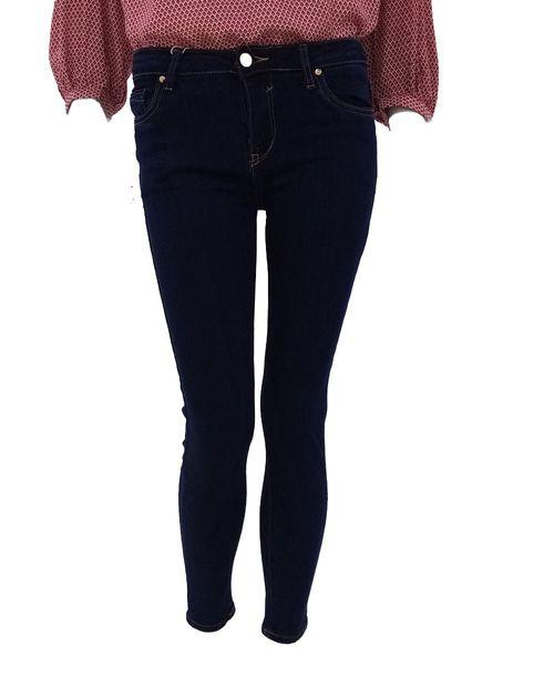 Jeans sólido dk blue