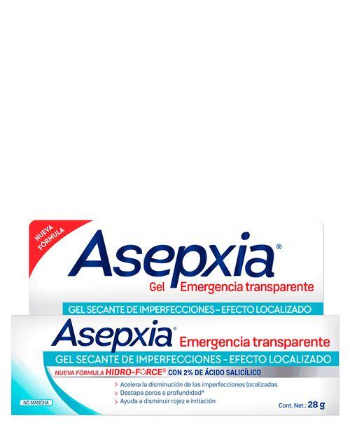 Asepxia Spot Emergencia Transparente 28g