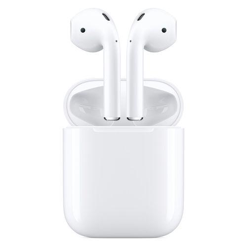 Apple AirPods con estuche de carga (2.a generación)