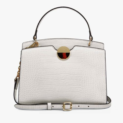 Cartera satchel nine west color hueso para dama