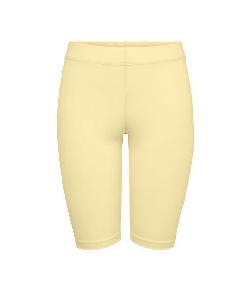 Short biker amarillo pastel