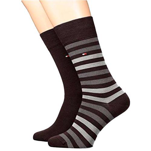 2 pack de calcetines de vestir para caballero black