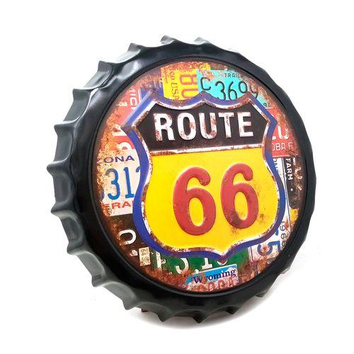 letrero route 35cm