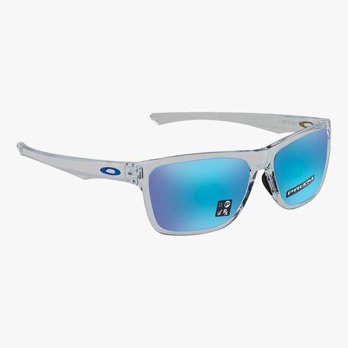 Lentes de sol para caballero de material acetato diseño transparente color azul