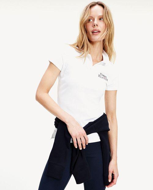 Blusa polo white