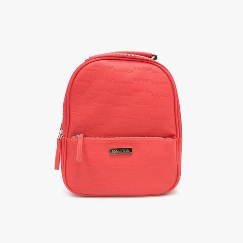 Cartera backpack color rojo