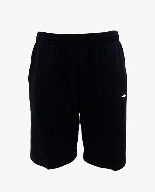 Black m. knitted shorts