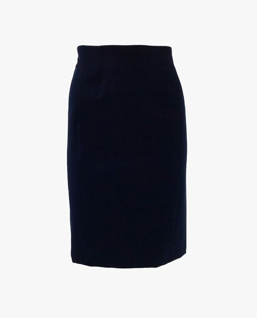 Falda básica navy