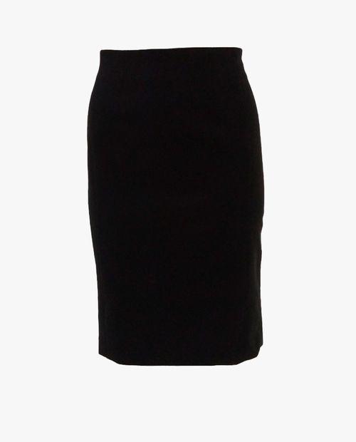 Falda básica negro