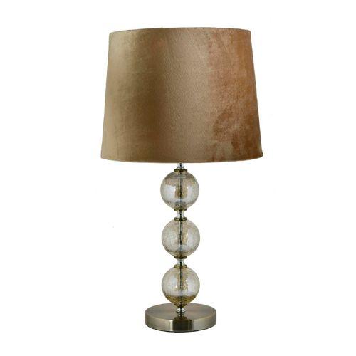 Lampara de mesa base decorativo - mahogany 58x33cm