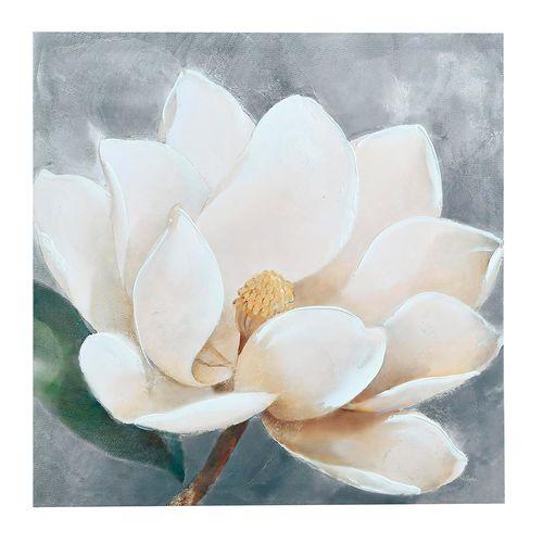 Cuadro decorativo flor -nirvana 60x60x2.5cm