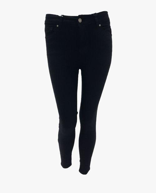 Jeans básico negro high rise