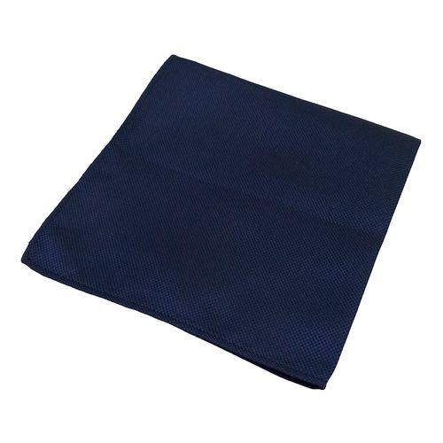 Pañuelo sólida textura para caballero navy