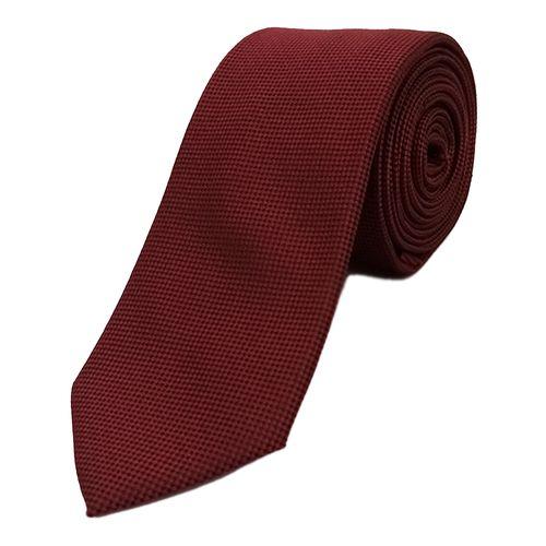 Corbata textura para caballero red