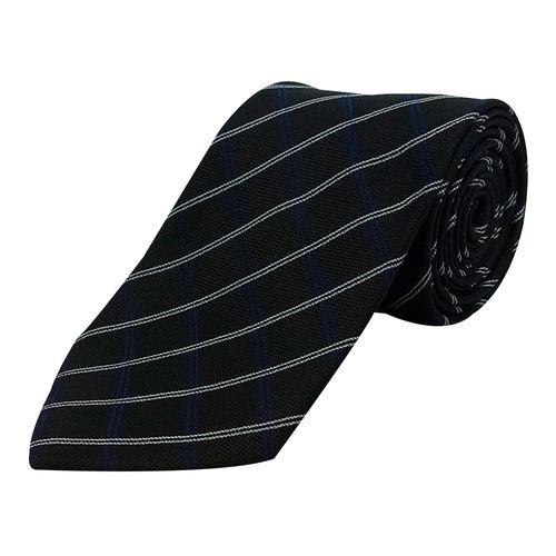 Corbata cuadros para caballero black