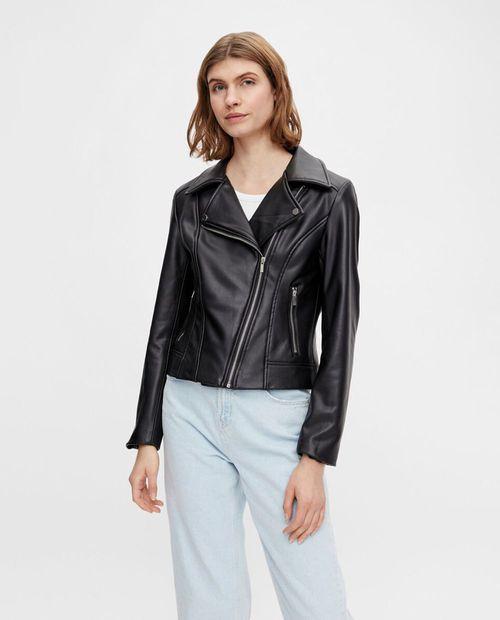 Pu jacket black