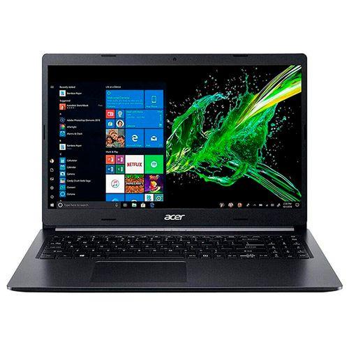 "Laptop de 15"" aspire 5 intel ci5-1003g 8gb - 256gb ssd w10 silver"