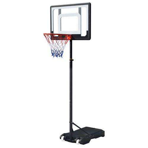 Tablero de basquetbol con poste ajustable runic 2.1m