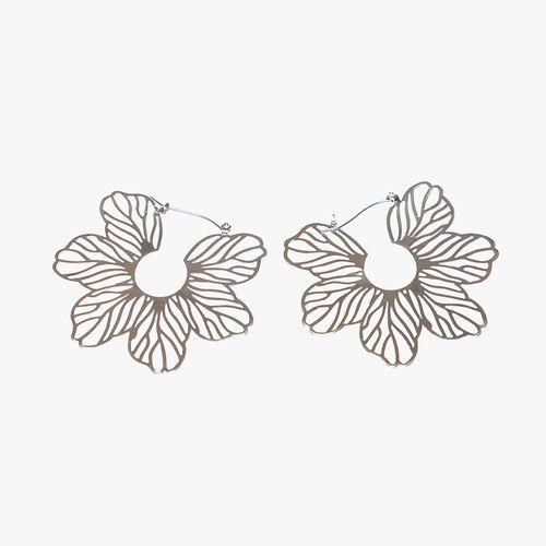 Aretes flor filigrana