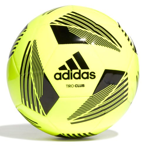 Balón de fútbol adidas amarillo