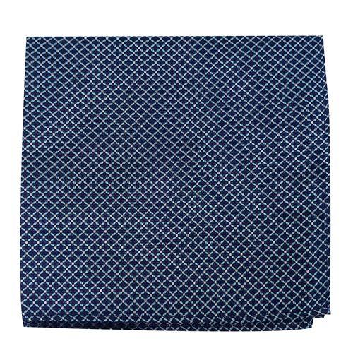 Pañuelo print para caballero navy