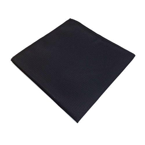 Pañuelo sólida textura para caballero black