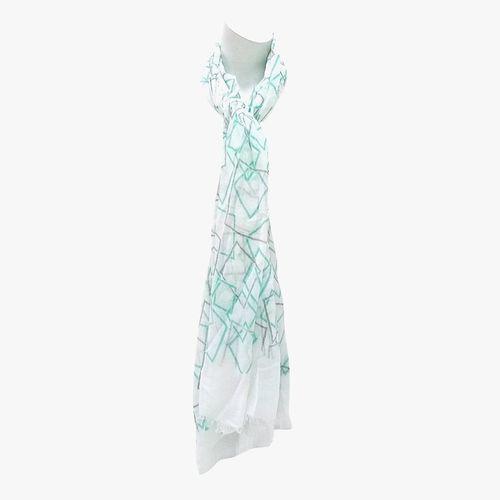 Bufanda color turquesa para dama
